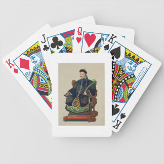 Portrait of a Mandarin (w/c) Poker Deck