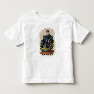 Portrait of a Mandarin (w/c) Toddler T-Shirt