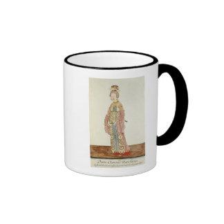 Portrait of a Mandarin Woman Mugs