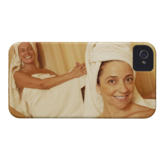 Portrait of a mature woman smiling with another iPhone 4 Case-Mate case