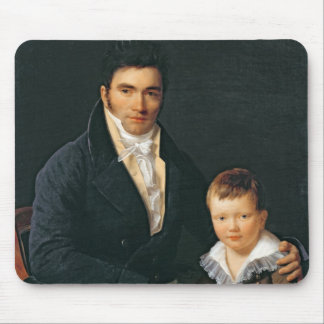 Portrait of a Member of the Barbet Family Mouse Mat