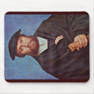 Portrait Of A Merchant From Cologne Wedigh Mousepad