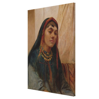 Portrait of a Middle Eastern Girl, c.1859 (oil on Canvas Print