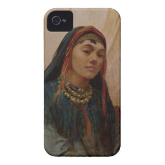 Portrait of a Middle Eastern Girl, c.1859 (oil on Case-Mate iPhone 4 Cases