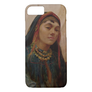 Portrait of a Middle Eastern Girl, c.1859 (oil on iPhone 8/7 Case