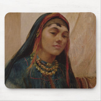 Portrait of a Middle Eastern Girl, c.1859 (oil on Mouse Mat