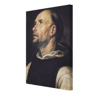 Portrait of a Monk Canvas Print