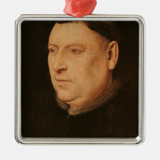 Portrait of a Monk Christmas Ornament