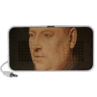 Portrait of a Monk Laptop Speaker