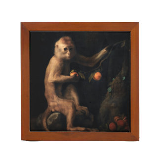 Portrait of a Monkey Desk Organizers