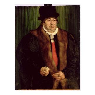 Portrait of a Munich Aristocrat, 1559 Postcard
