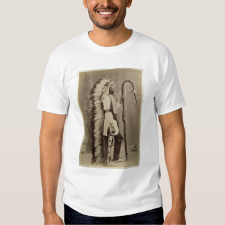 Portrait of a Native American from 'Buffalo Bill's T-shirts