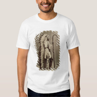 Portrait of a Native American from 'Buffalo Bill's Tshirts