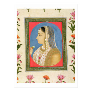 Portrait of a noble lady, from the Small Clive Alb Postcard