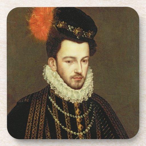 Portrait of a Nobleman 2 Drink Coaster