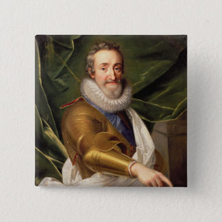 Portrait of a Nobleman in Armour 15 Cm Square Badge