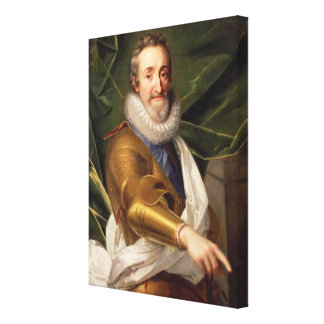 Portrait of a Nobleman in Armour Canvas Print