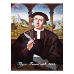 Portrait Of A Notary By Quentin Massys Flyers