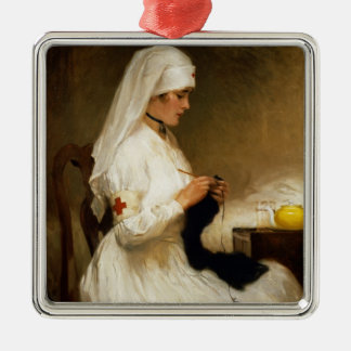 Portrait of a Nurse from the Red Cross Christmas Ornament