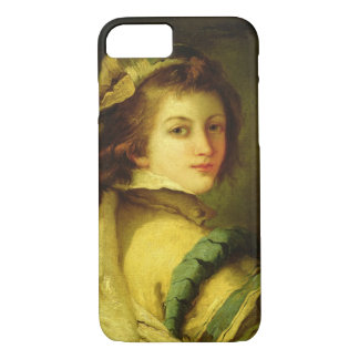 Portrait of a Page, 1762-70 (oil on canvas) iPhone 8/7 Case