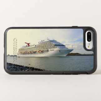 Portrait of a Passing Cruise Ship OtterBox Symmetry iPhone 8 Plus/7 Plus Case