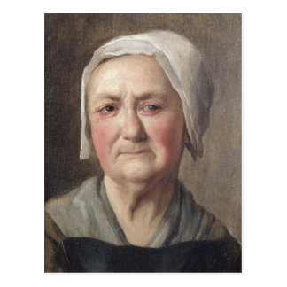 Portrait of a Peasant Postcard