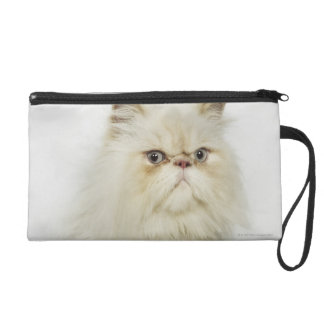 Portrait of a Persian cat Wristlet