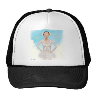 Portrait of a Prima Ballerina - Painting Hats