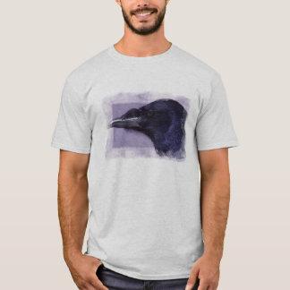 Portrait of a Raven Corvid-lovers Art Design T-Shirt