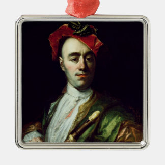 Portrait of a Recorder Player Christmas Ornament