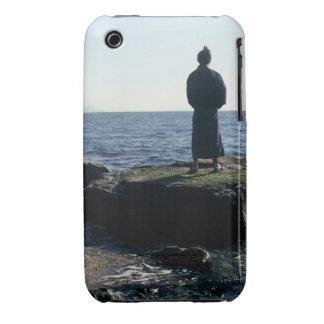 Portrait of a Samurai warrior iPhone 3 Case-Mate Case