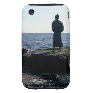 Portrait of a Samurai warrior iPhone 3 Tough Cases