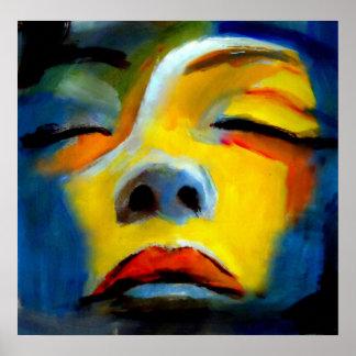 "Portrait of a sleeping woman ""Sleeping Beauty"" Poster"