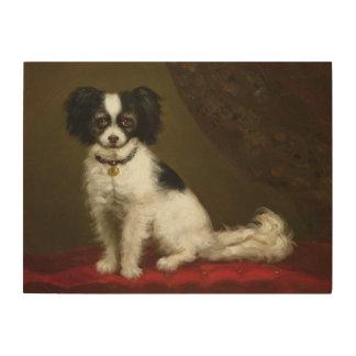 Portrait of a Spaniel Wood Print