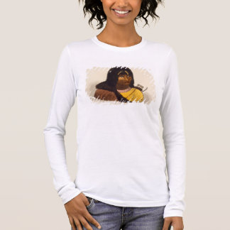 Portrait of a Stone Indian, from 'Narrative of a J Long Sleeve T-Shirt