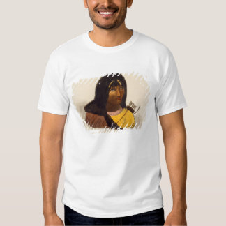 Portrait of a Stone Indian, from 'Narrative of a J Tshirts