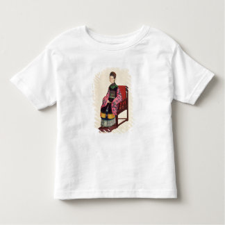 Portrait of a Tartar Woman (w/c) Toddler T-Shirt