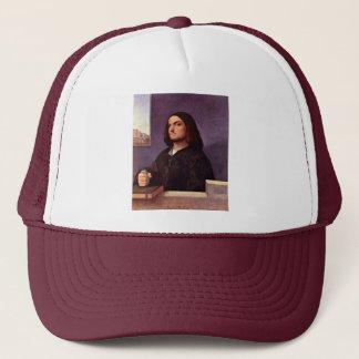 Portrait Of A Venetian Nobleman By Tizian Trucker Hat