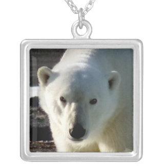 Portrait of a wild Polar bear Pendant