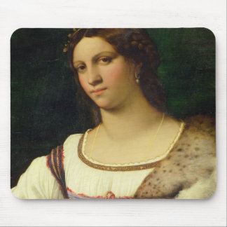 Portrait of a Woman, 1512 (oil on canvas) Mouse Pad