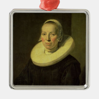Portrait of a woman, 1644 christmas ornament