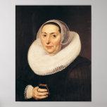 Portrait of a Woman, 1665 Poster