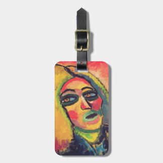 Portrait of a Woman, 1912 Bag Tag