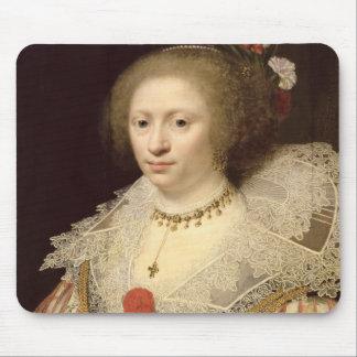 Portrait of a Woman 2 Mouse Pad