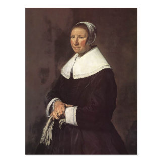 Portrait of a Woman  by Frans Hals Post Cards