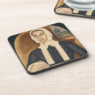 Portrait of a Woman, c. 1845 (oil on canvas) Drink Coaster