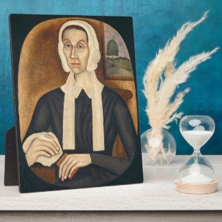Portrait of a Woman, c. 1845 (oil on canvas) Photo Plaques