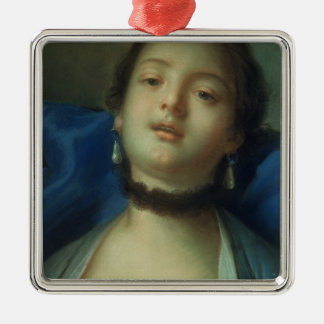 Portrait of a Woman Christmas Ornament
