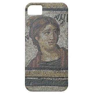 Portrait of a woman, detail of a mosaic pavement d iPhone 5 cases