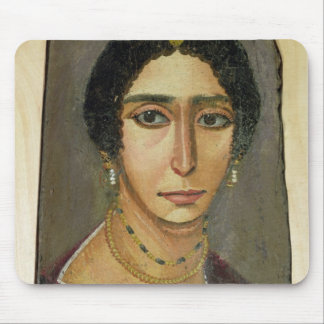 Portrait of a woman, from Fayum, 1st-4th century Mouse Mat